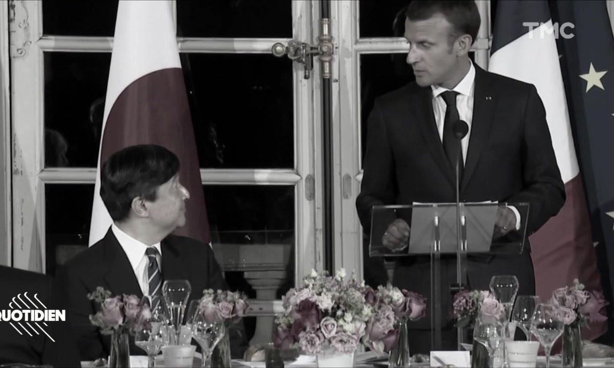 Profession Président : discours de sourd entre Macron et Naruhito