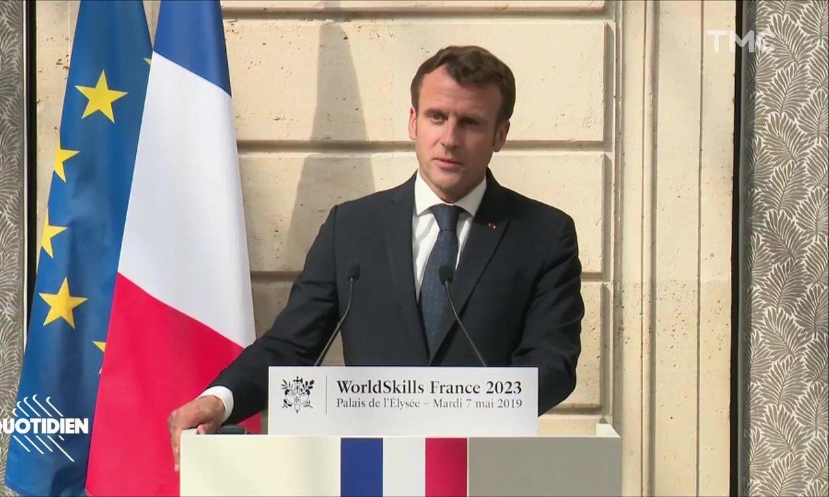 Profession président : Emmanuel Macron, the real American (ou pas)