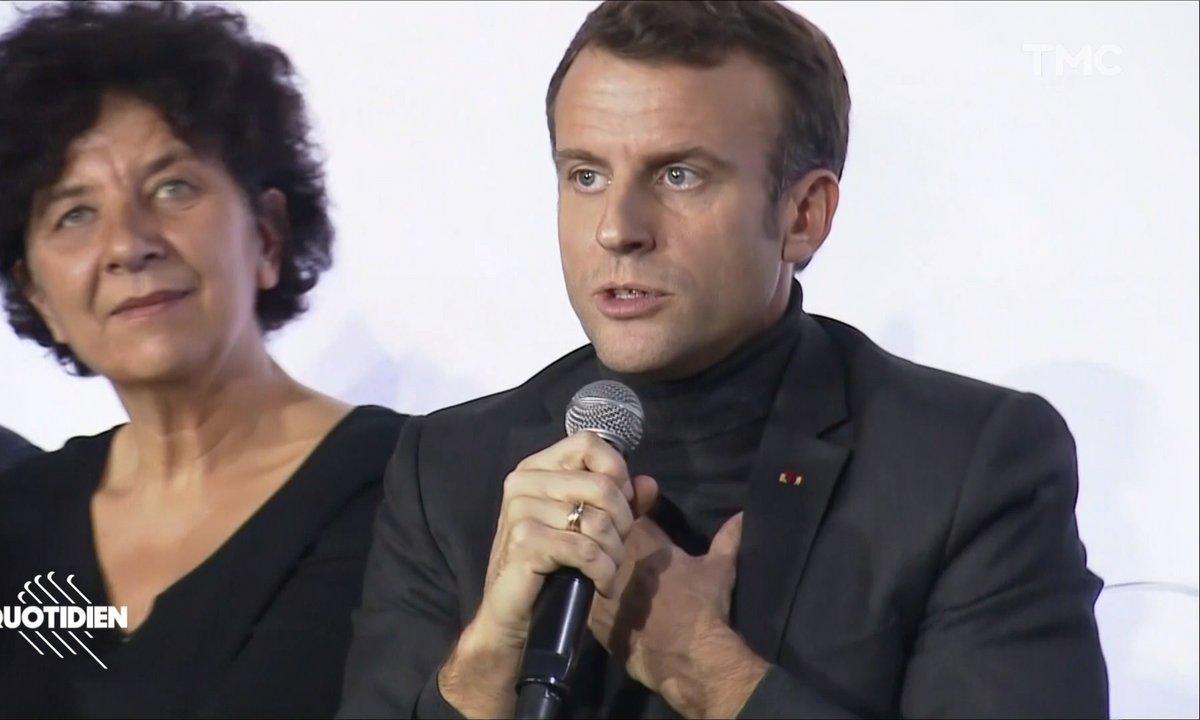 Profession président : face au CNRS, le vocabulaire d'Emmanuel Macron ne fait pas le poids