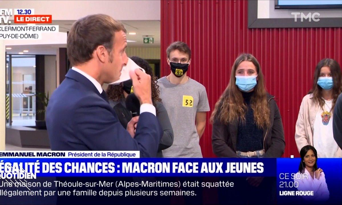 Profession président : il est 12h30 quand Emmanuel Macron tousse, ensuite tout fout le camp
