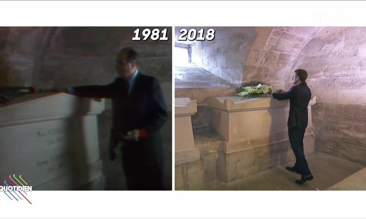 Profession Président : Jacques-a-dit fait comme Mitterrand