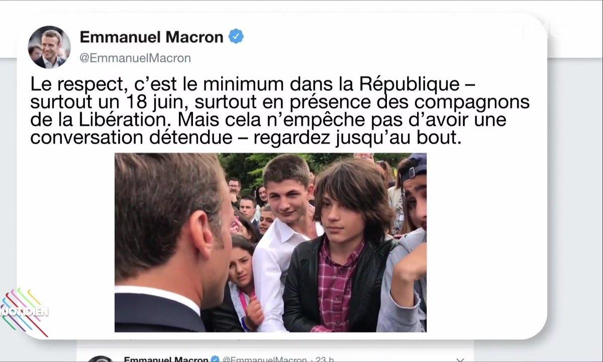 Profession Président : l'autorité selon Macron