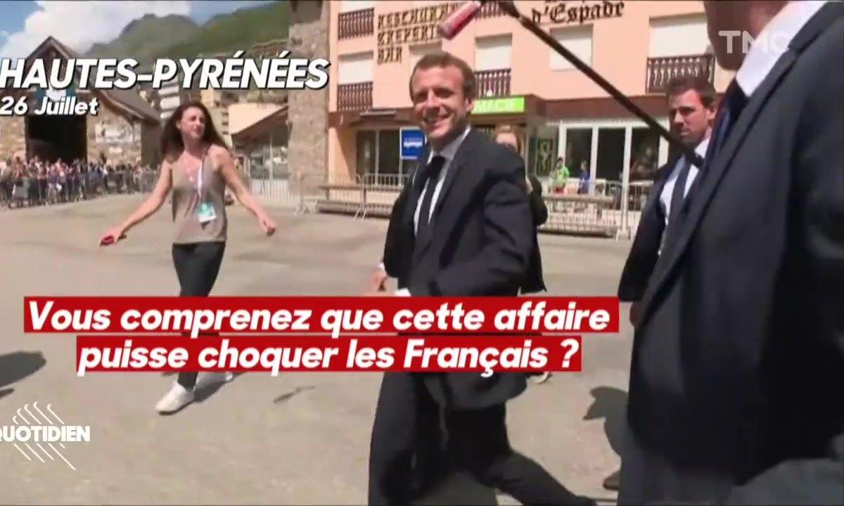 Profession président : l'été de Macron avec la presse