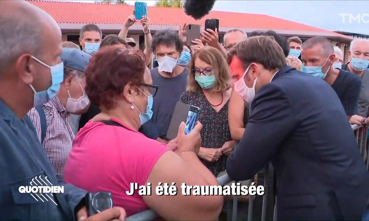 Profession président : le cri du coeur d'une femme en situation de handicap face à Emmanuel Macron