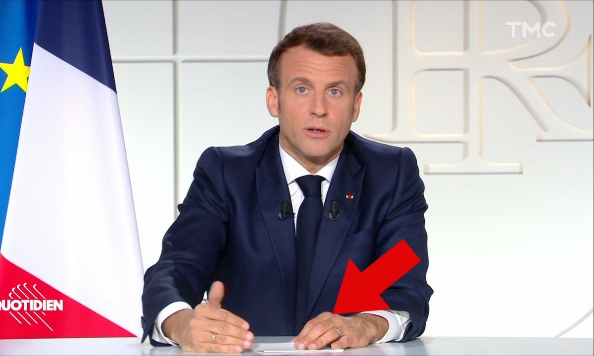 Profession président : les 10 détails qui vous ont échappé pendant l'allocution de Macron