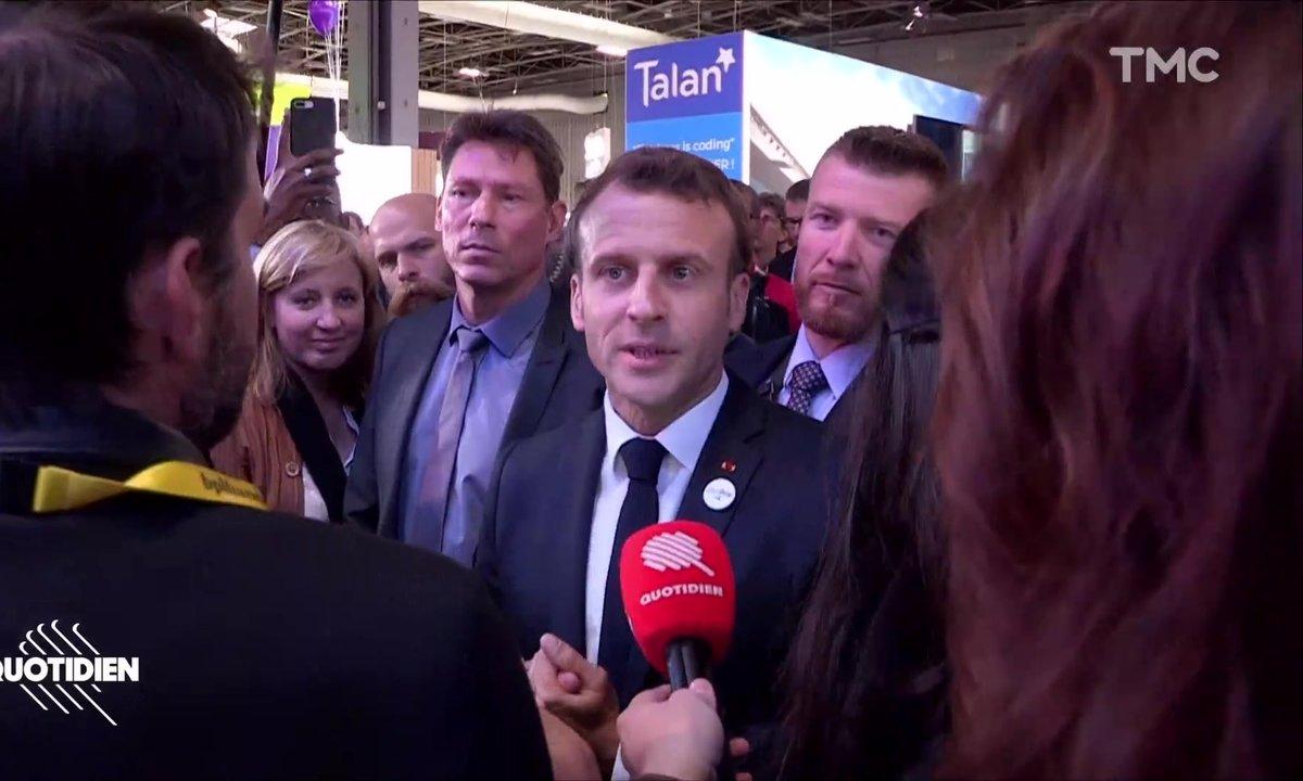 Profession président : Macron apprend à endormir