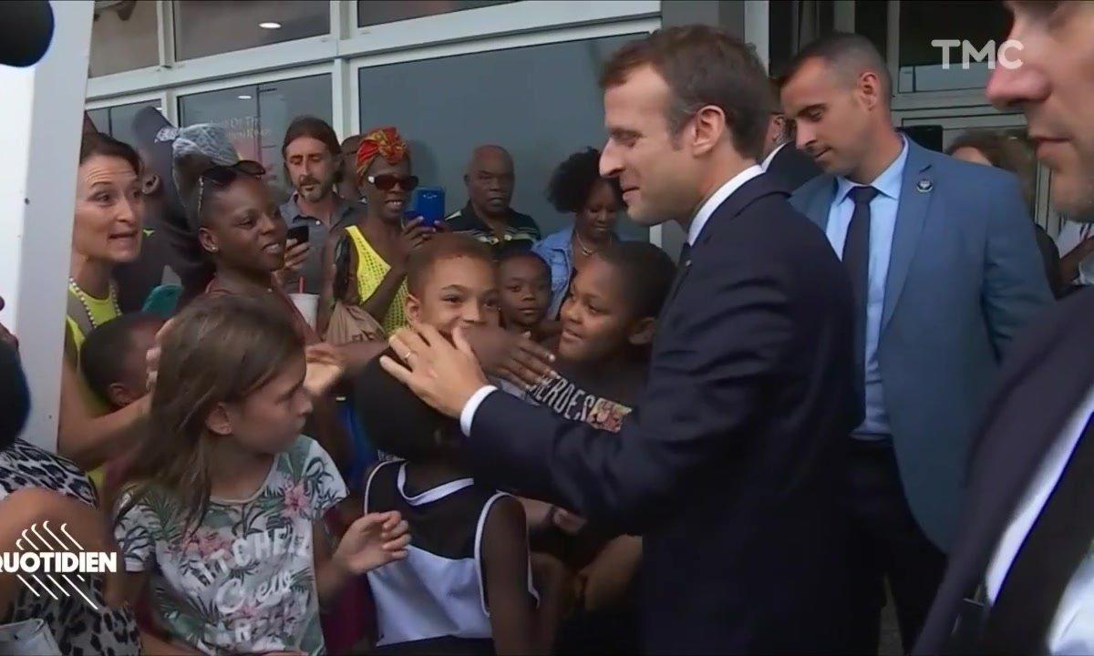 Profession Président : le SAV d'Emmanuel Macron aux Antilles