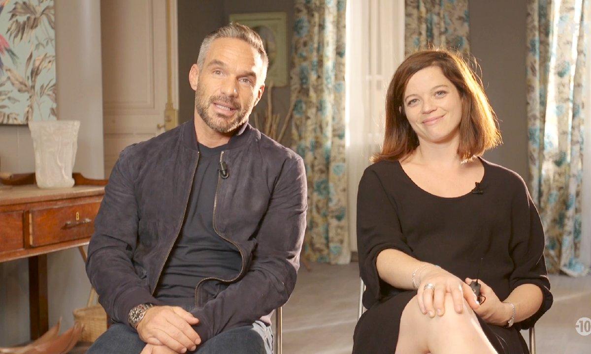 Le quiz de Philippe Bas (Rocher) et de Juliette Roudet (Adèle)