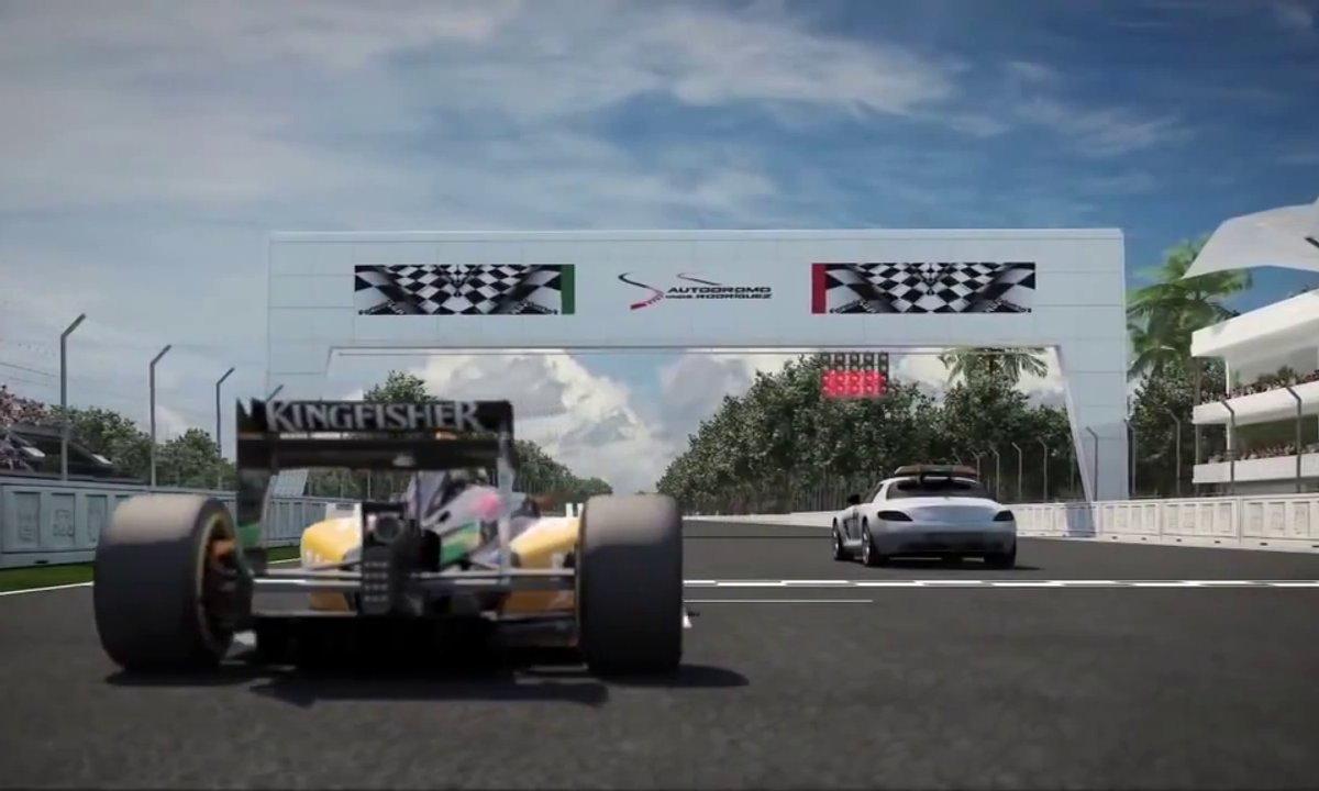 F1 : Petit tour de piste virtuel du futur Grand Prix du Mexique