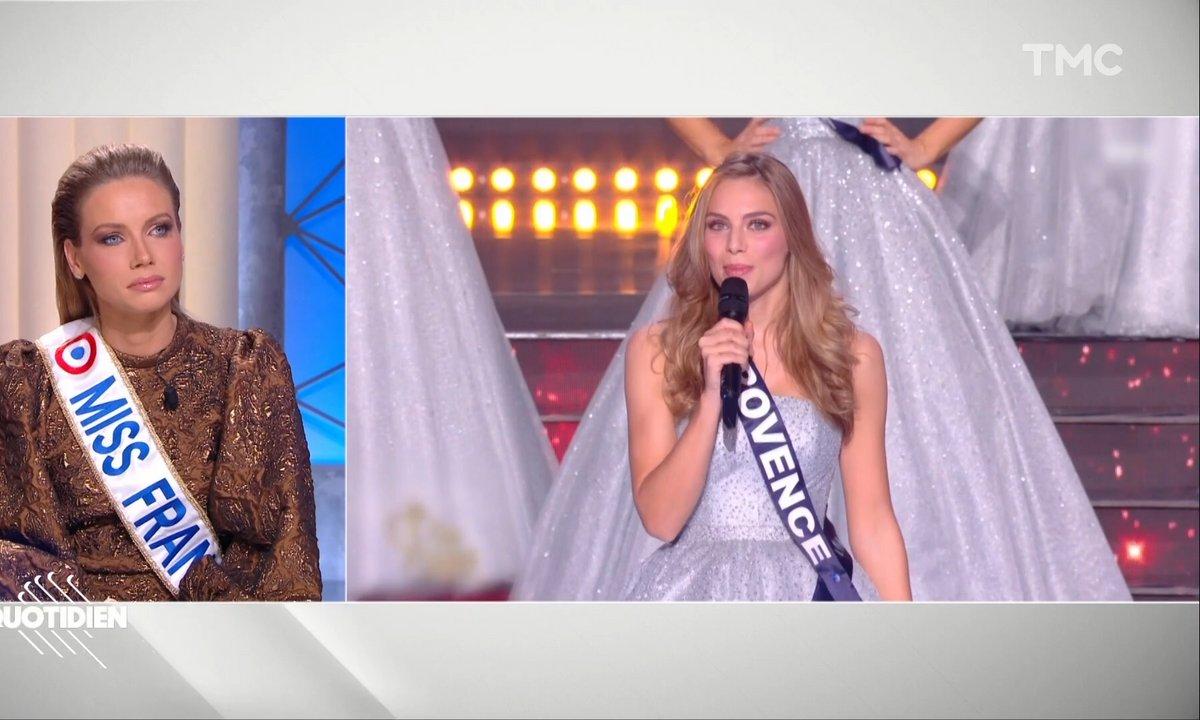 """Insultes antisémites contre April Benayoum: """"Ces propos n'ont leur place nulle part"""", dénonce Amandine Petit, Miss France 2021"""
