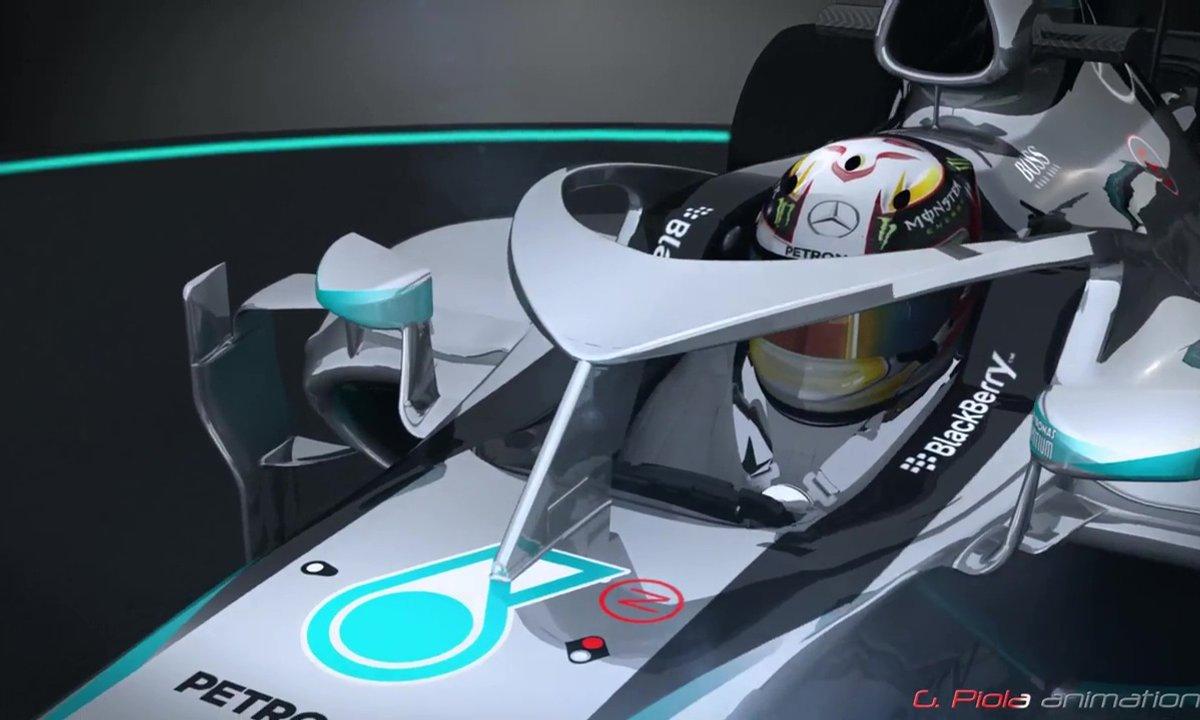 La F1 teste une protection pour la tête des pilotes en 2017