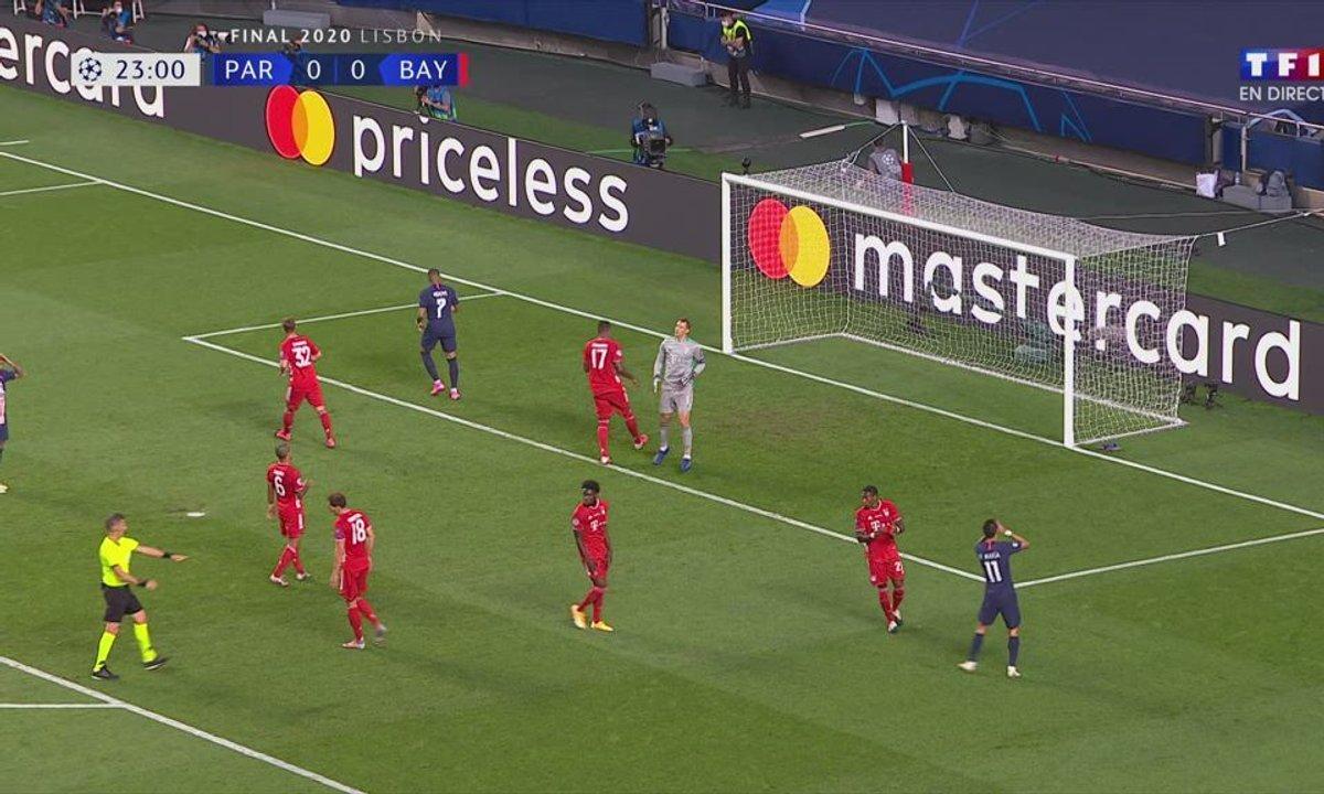 PSG - Bayern (0 - 0) : Voir l'occasion d'Ángel Di María en vidéo