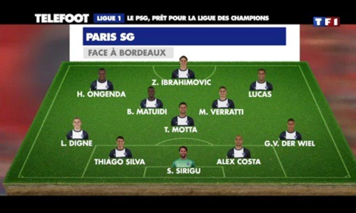 PSG : Paris prêt pour la Ligue des champions