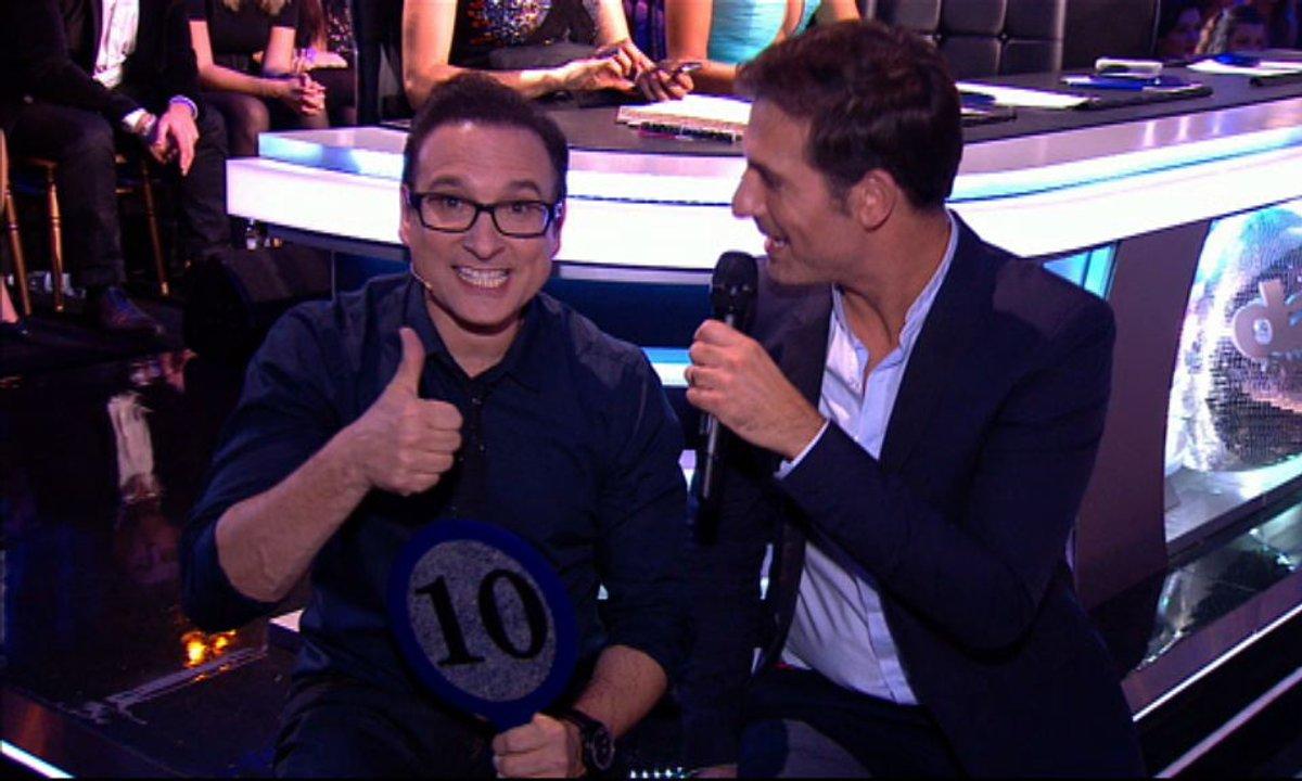 #DALS Côté Coulisses : Jean-Marc Généreux garde la pêche !