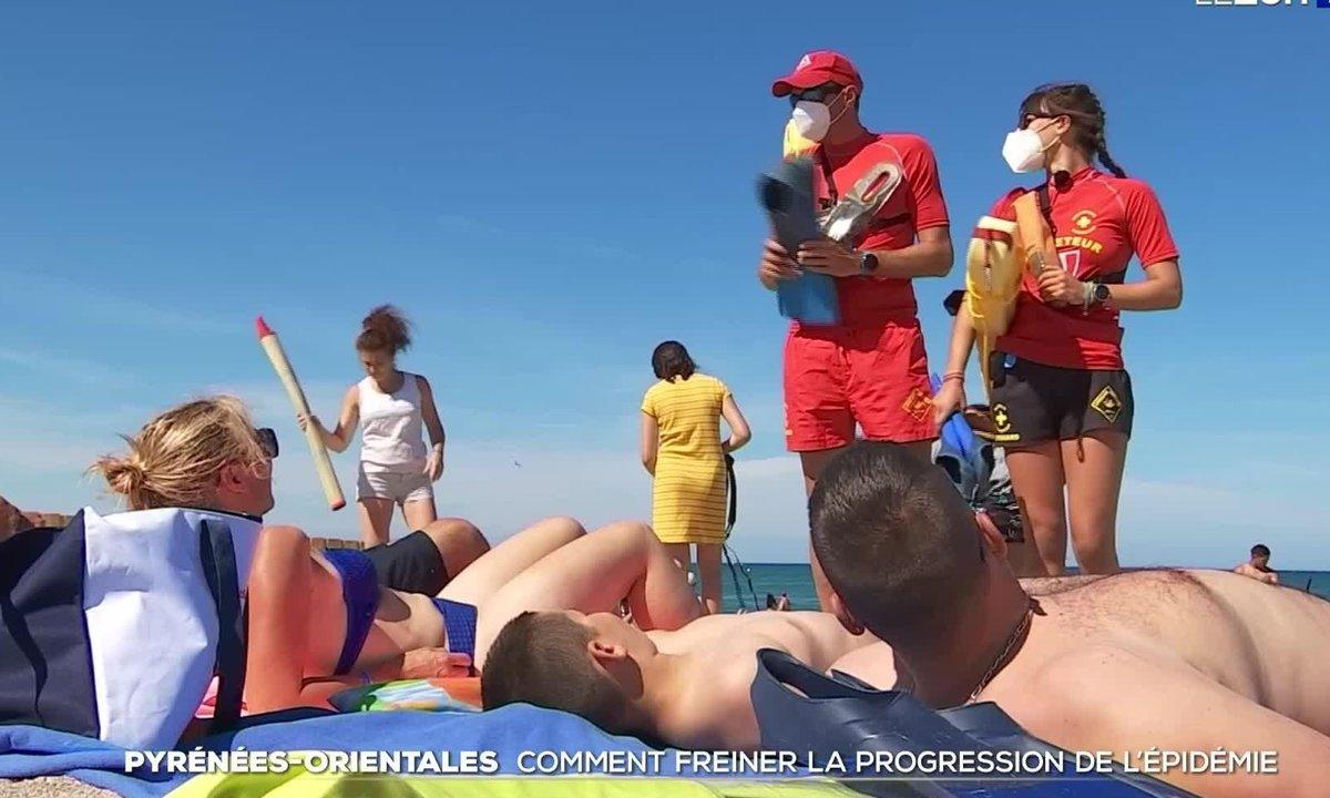 Pyrénées-Orientales : mobilisation face à l'explosion des cas