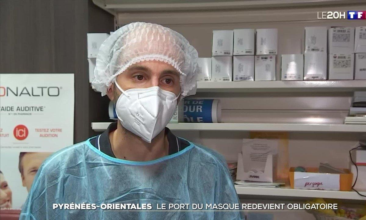 Pyrénées-Orientales : retour du masque face au variant Delta