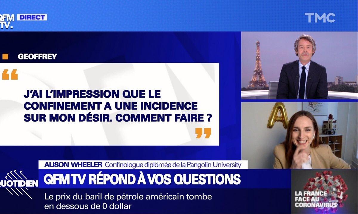 QFMTV : libido, immunité, … Alison Wheeler répond à toutes vos questions