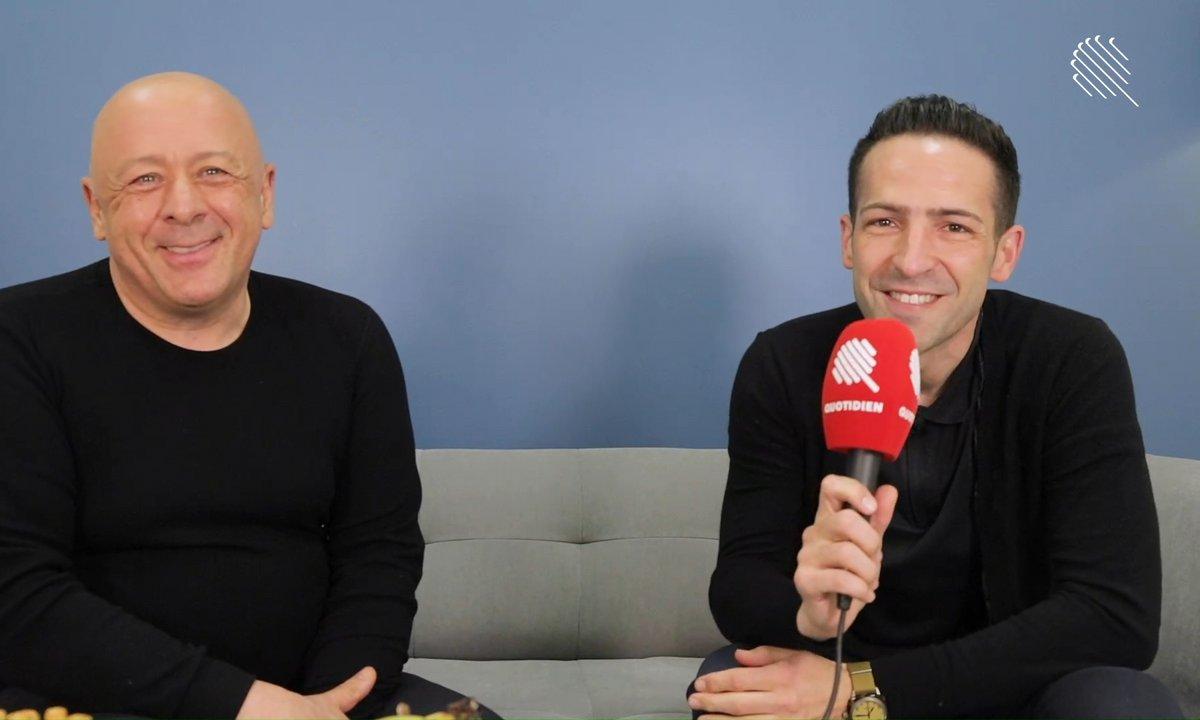 Qoulisses avec Thierry Marx et Raphaël Haumont !