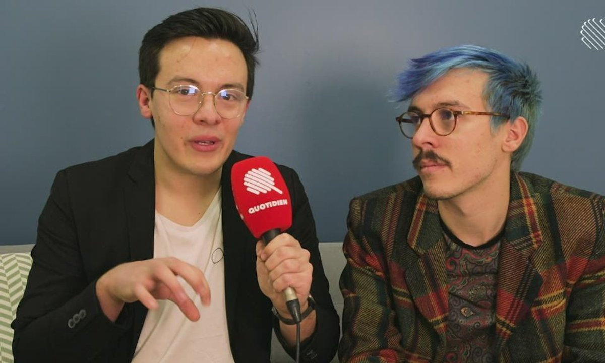 Qoulisses avec Tom et Nathan Levêque !