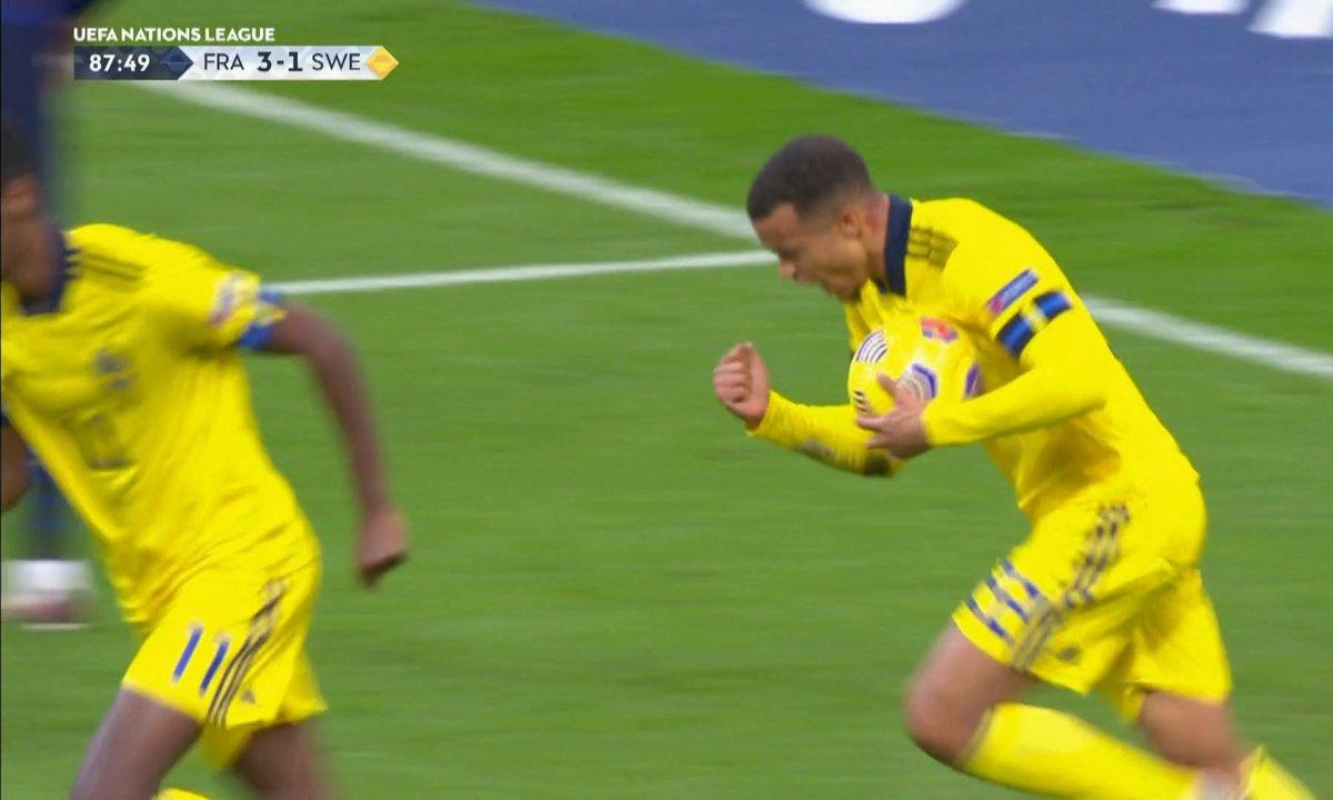 France - Suède (3 - 2) : Voir le but de Quaison en vidéo
