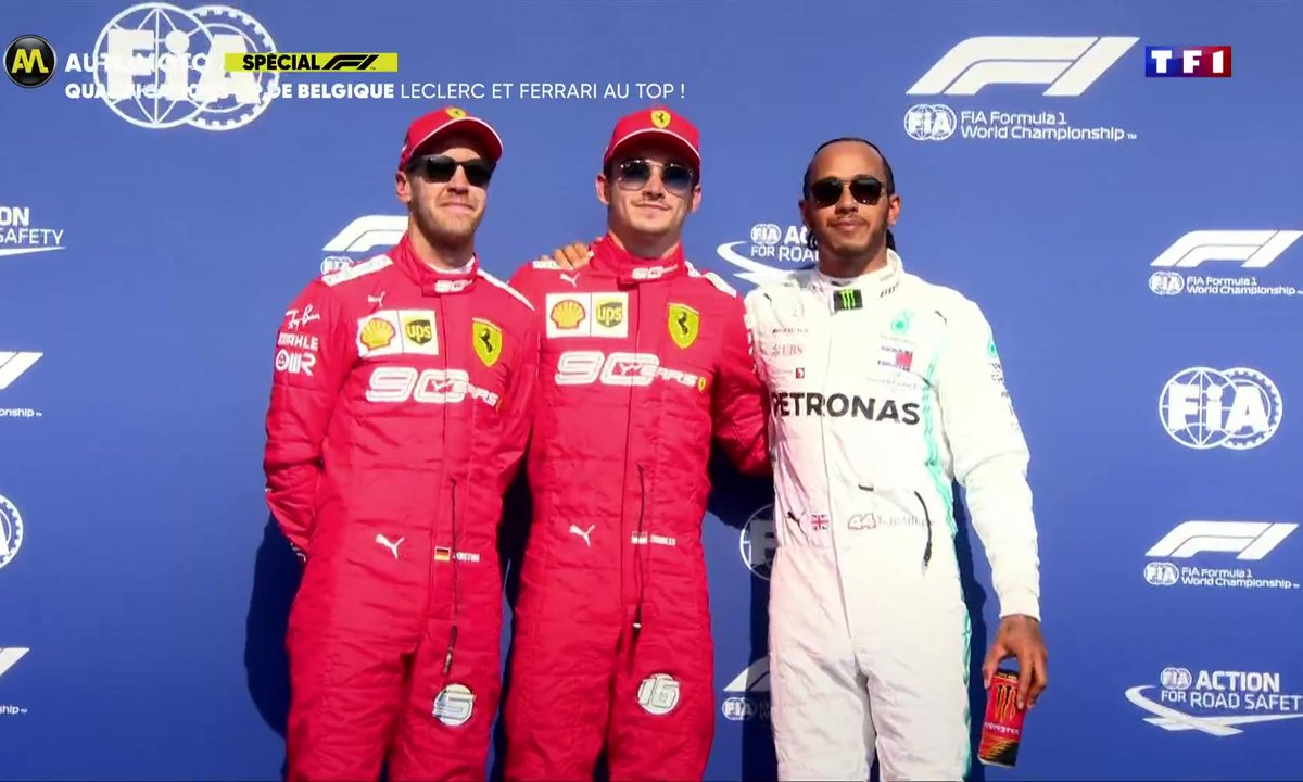 Qualifications GP de Belgique : Leclerc et Ferrari au top
