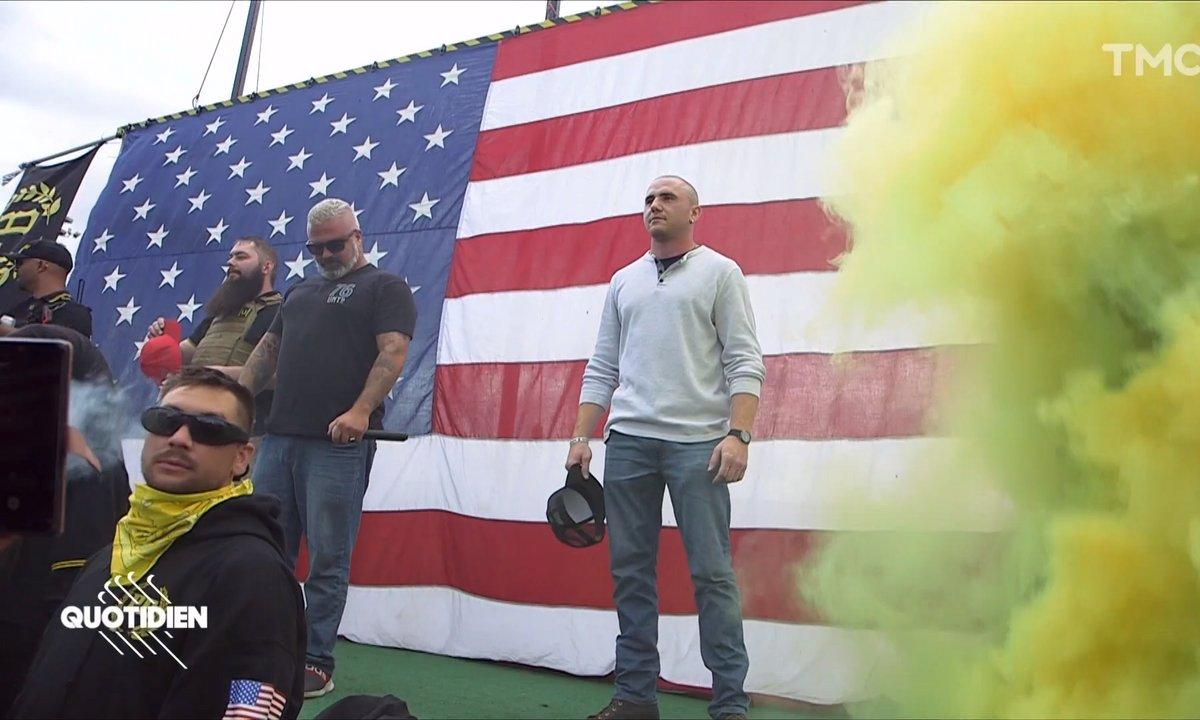 """Etats-Unis : qui sont les """"Proud Boys"""", ce groupe qui veut """"régler le problème"""" à Portland ?"""