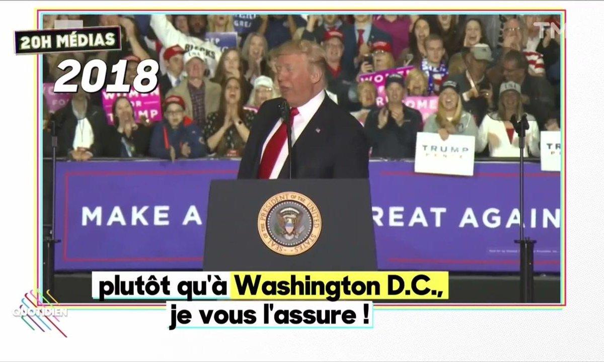 20h Médias : Donald Trump boude encore le dîner des correspondants
