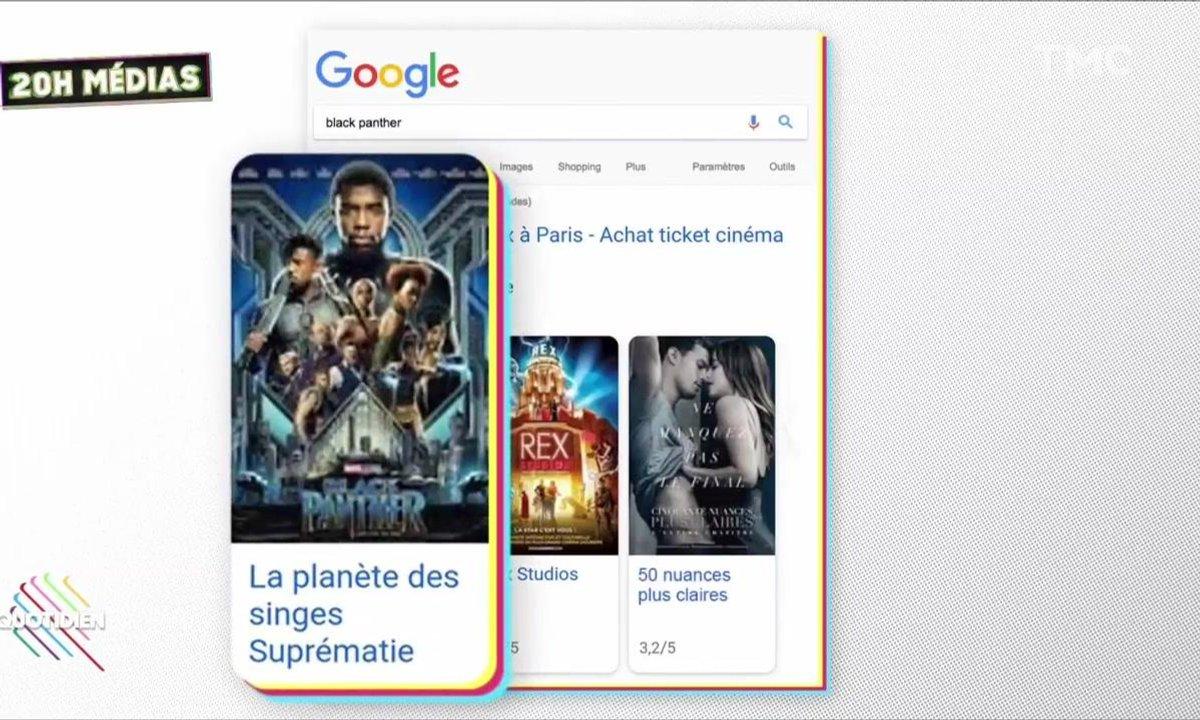 Le 20h Médias : Le Google Bomb raciste sur « Black Panter »