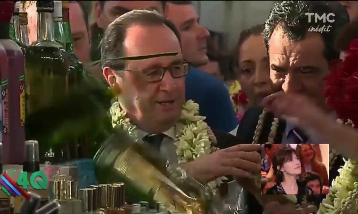 Les 4 Q -  Les meilleures blagues de François Hollande