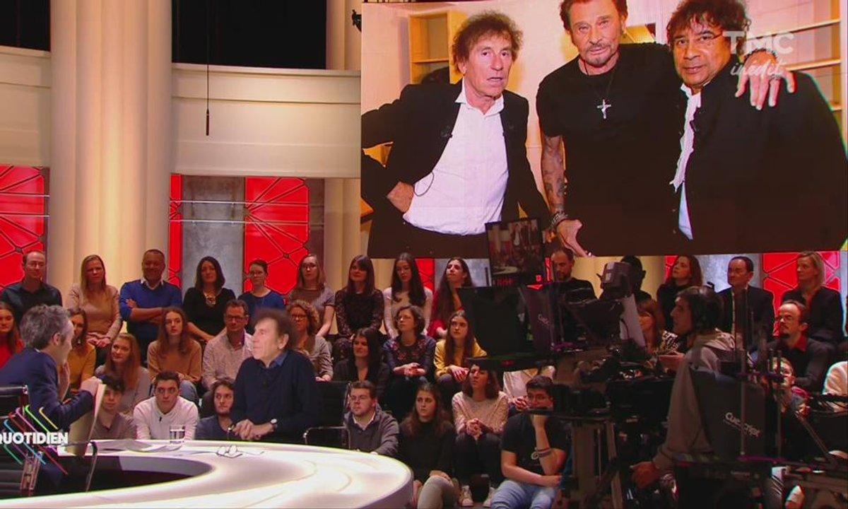 """Alain Souchon sur Johnny Hallyday : """"Quand il rentrait dans une pièce il changeait l'atmosphère !"""""""