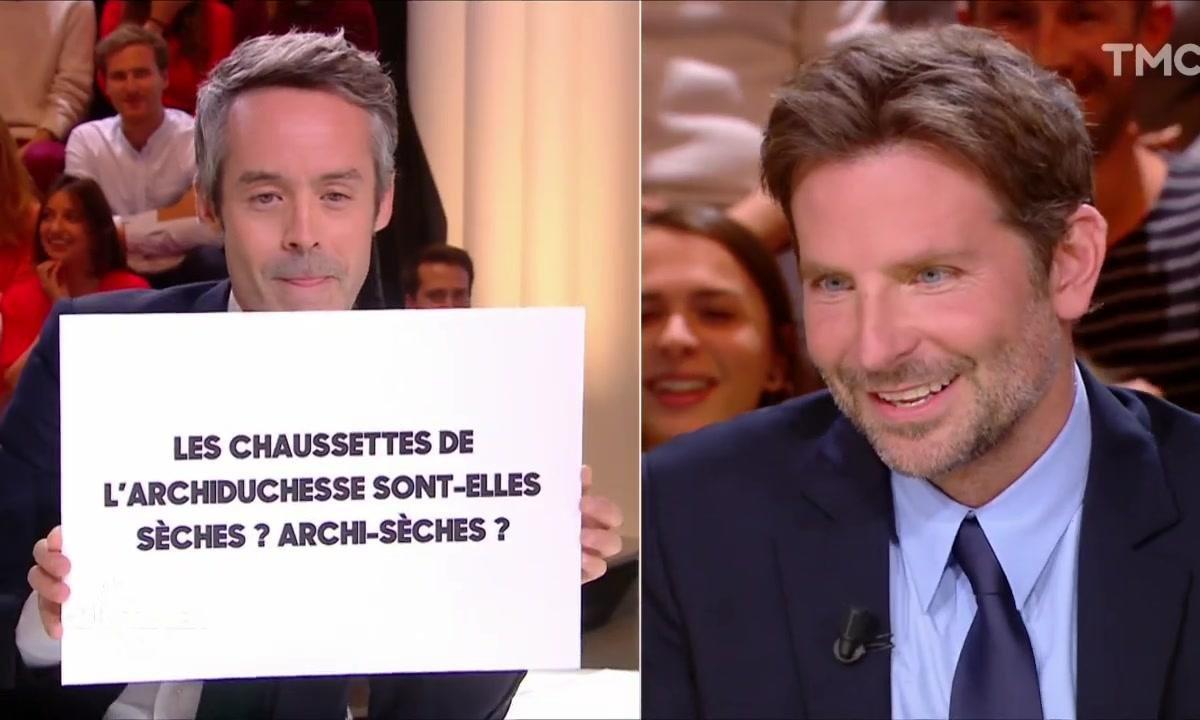 Bradley Cooper : on a testé son français avec des phrases que même nous on ne sait pas dire