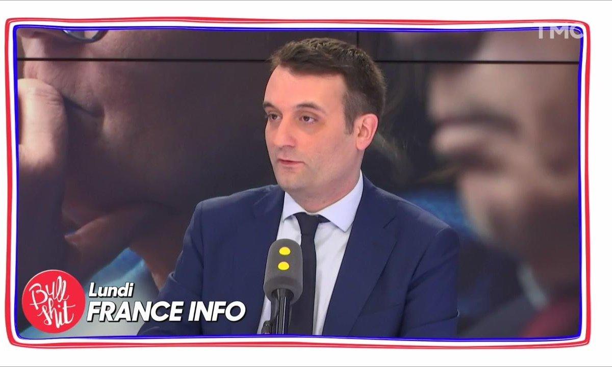 Bullshit Glory - Florian Philippot passe son temps à dézinguer Marine Le Pen
