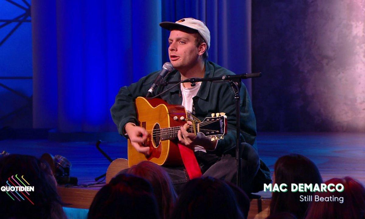 "Mac DeMarco : ""Still Beating"" en live sur Quotidien (Exclu web)"