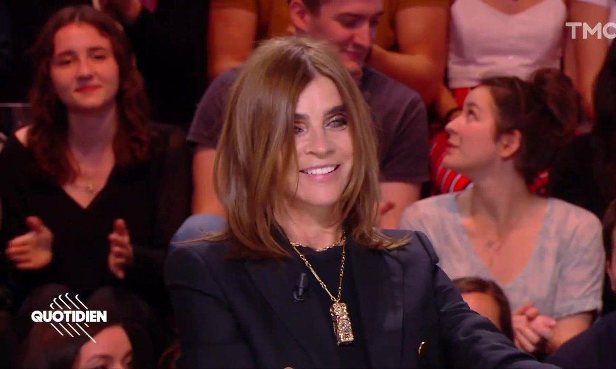 Invitée : Carine Roitfeld, l'ancienne patronne de Vogue lance sa ligne de parfums