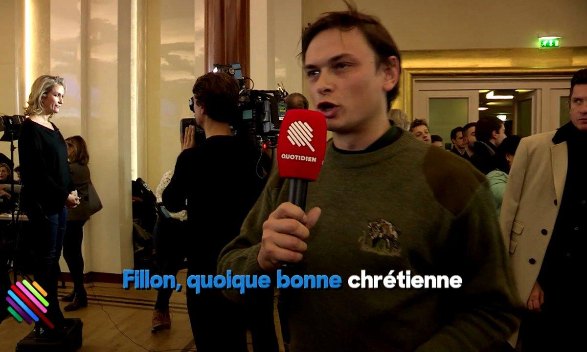 Chasseur et fan de Fillon (exclu web)