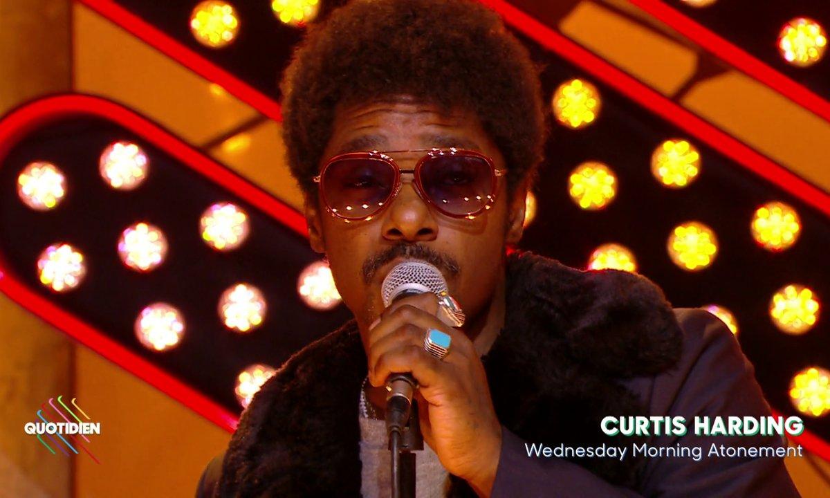 "Curtis Harding : ""Wednesday Morning Atonement"" en live sur Quotidien (exclu web)"