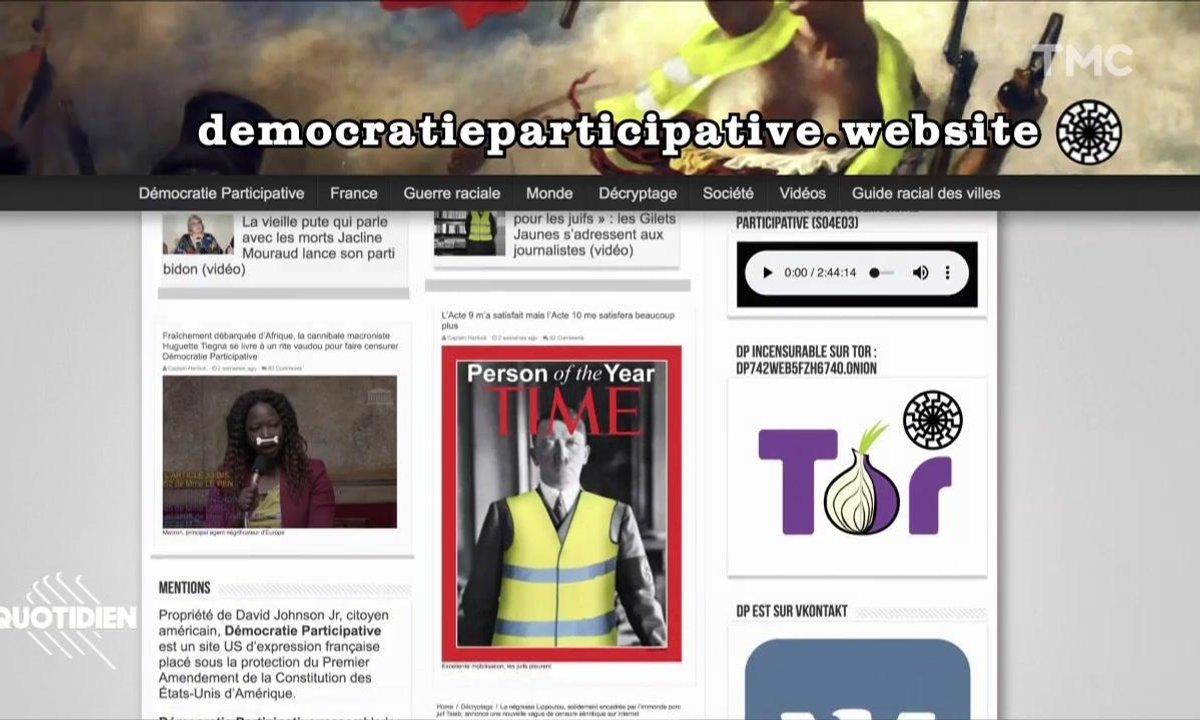 """""""Démocratie participative"""" le site de la fachosphère qu'on n'arrive pas à interdire"""