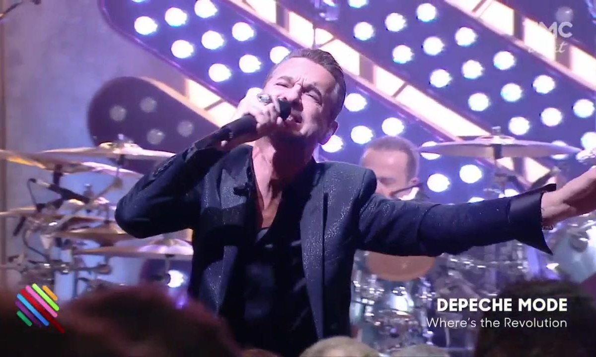 """Depeche mode - """"Where's the Revolution"""" sur la scène de Quotidien"""