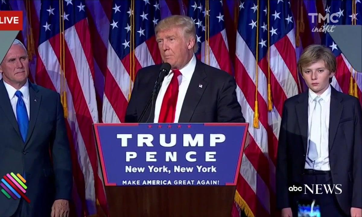 Donald Trump, milliardaire-vulgaire et 45e Président des Etats-Unis