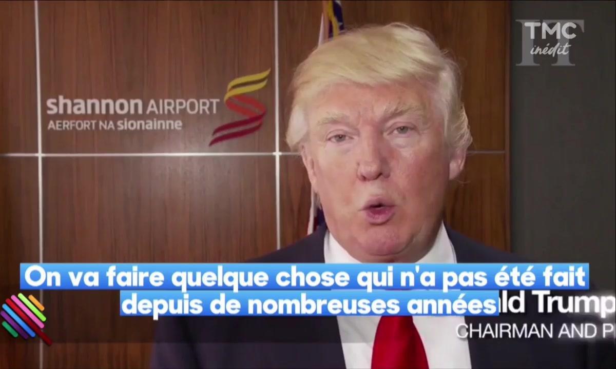 Donald Trump veut construire le mur de l'Atlantique....