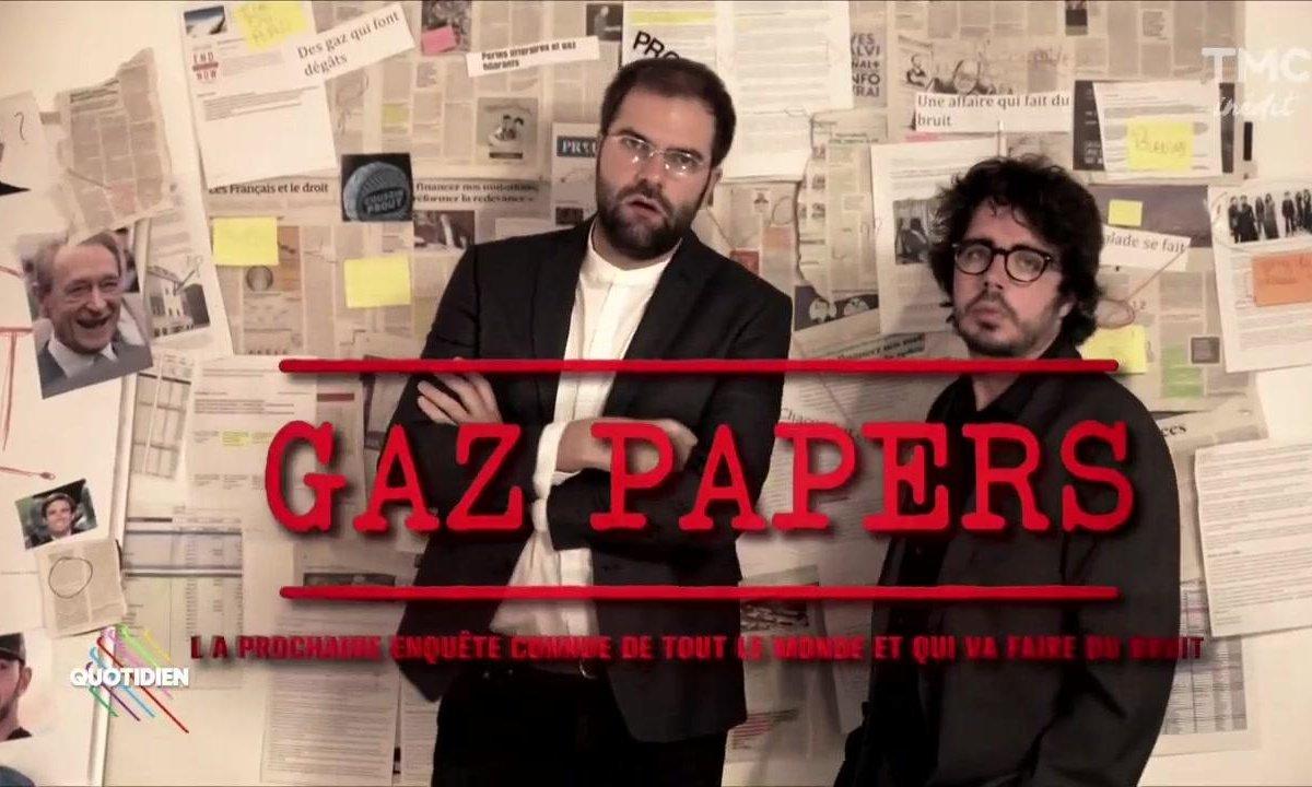 Eric et Quentin : LES GAZPAPERS