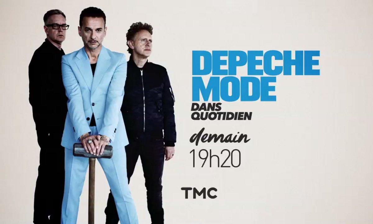 Evénement : Depeche Mode en concert live sur la scène de Quotidien