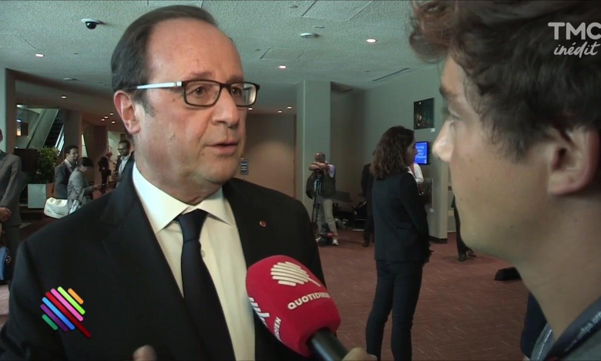 EXCLU : François Hollande et la menace Donald Trump