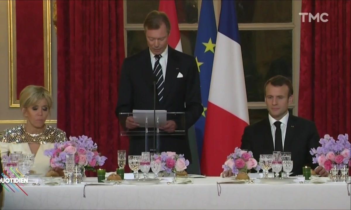 Le fait du jour : Emmanuel et Brigitte Macron s'éclatent à la Luxembourgeoise