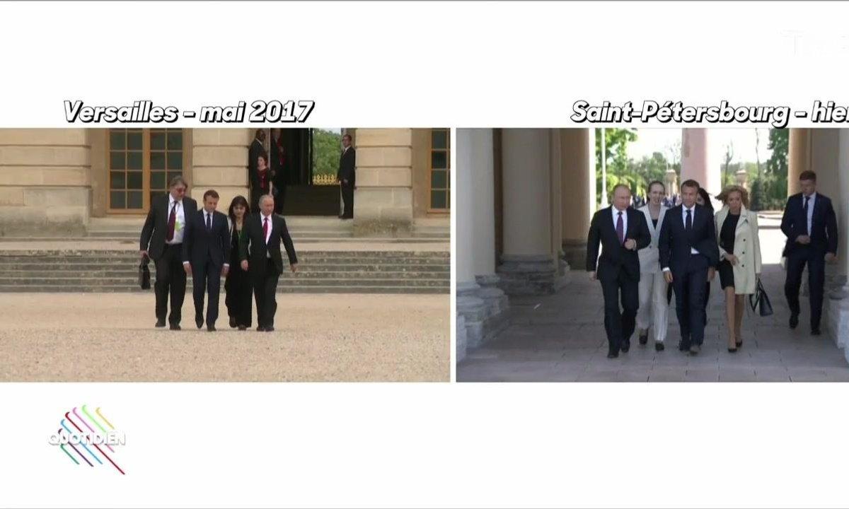 Fait du jour : Poutine vs Macron, le match retour