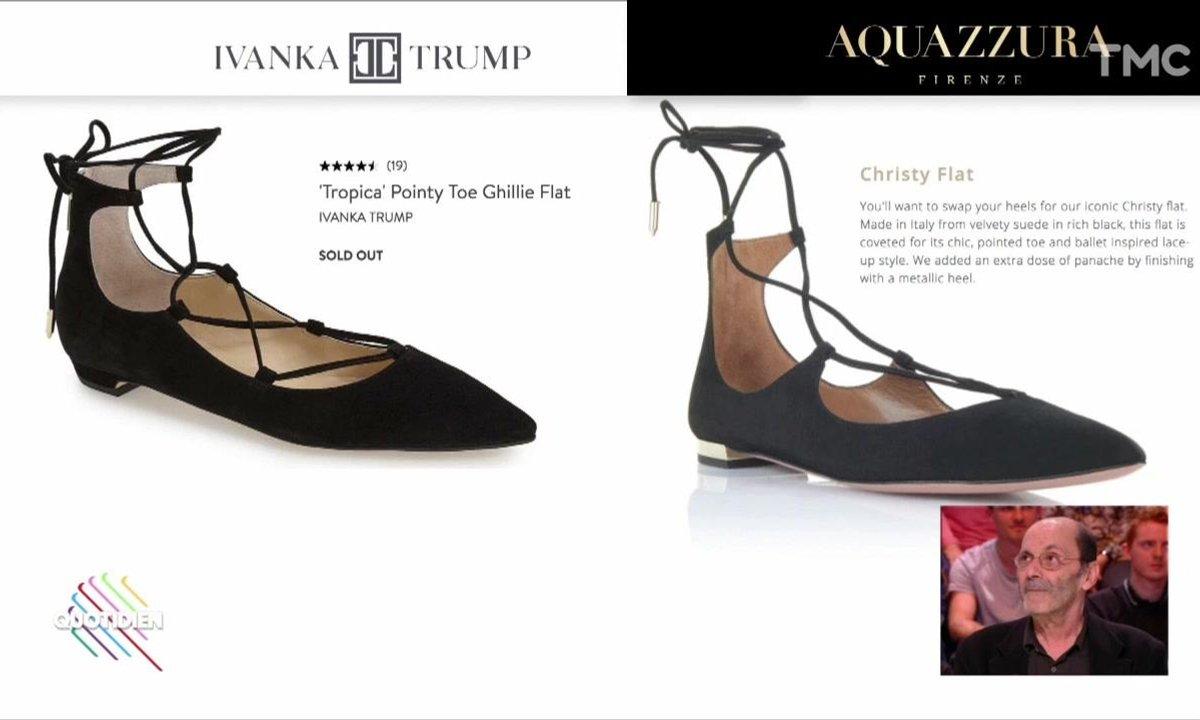 Fashion Hotline de Marc Beaugé : Ivanka Trump accusée de plagiat