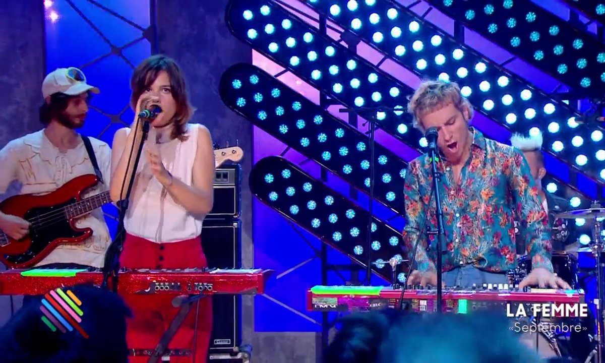 La Femme - Septembre en live (exclu web)