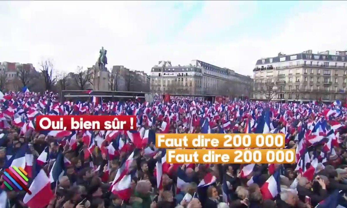 Fillon au Trocadéro : Attention aux micros ouverts !