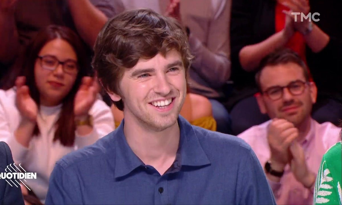 "Invité : Freddie Highmore, la star de ""Good Doctor"""