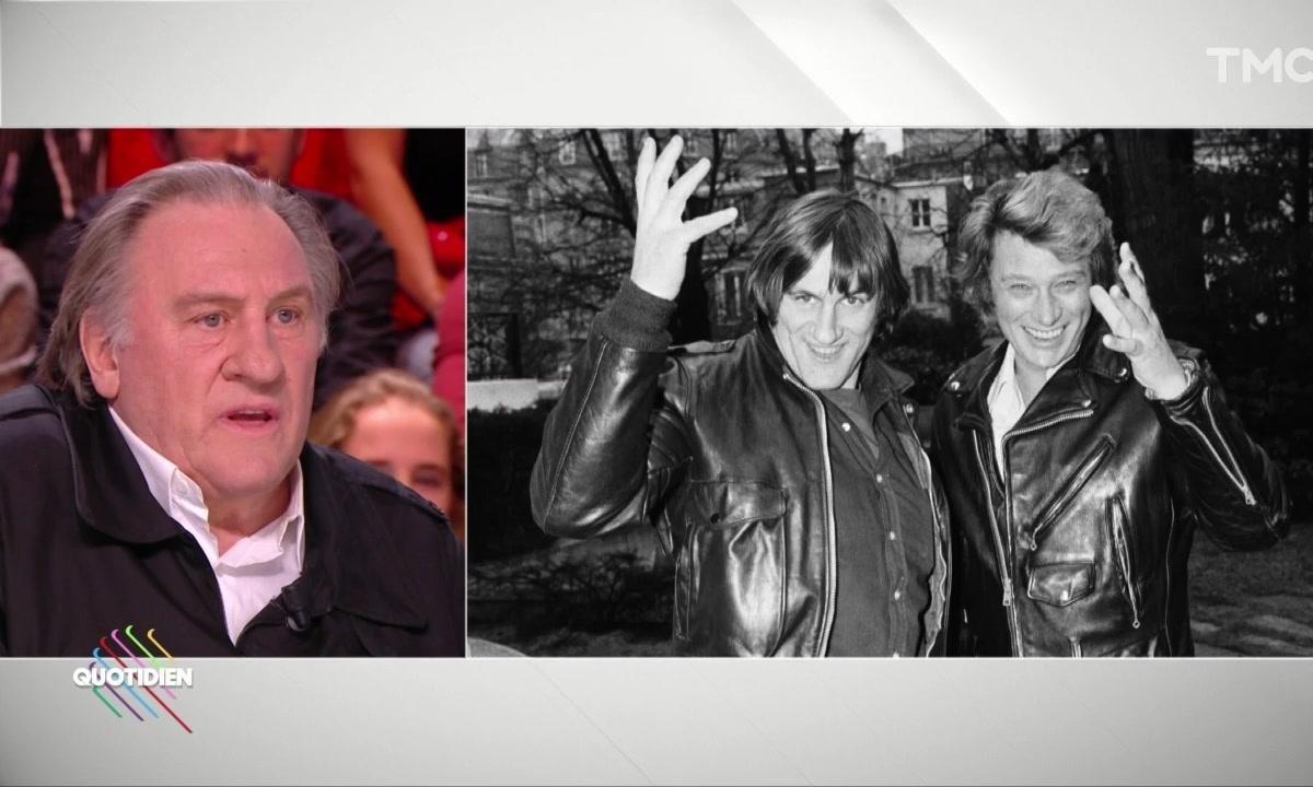 Gérard Depardieu et Johnny Hallyday : l'anecdote « stupéfiante »